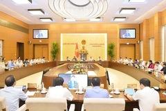 Hôm nay khai mạc phiên họp thứ 47 của Ủy ban Thường vụ Quốc hội