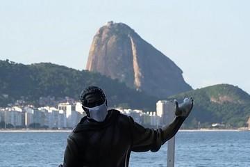 Brazil ứng dụng công nghệ để đảm bảo giãn cách tại bãi biển