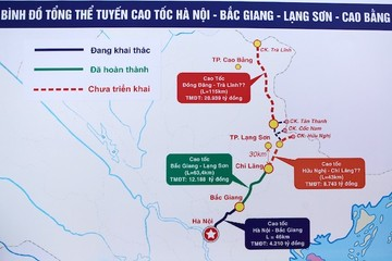 Thủ tướng phê duyệt chủ trương đầu tư dự án cao tốc Trà Lĩnh - Đồng Đăng gần 21.000 tỷ đồng