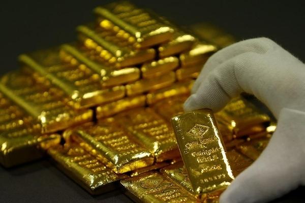 Trong ngày, mỗi lượng vàng mất giá hơn 2 triệu đồng