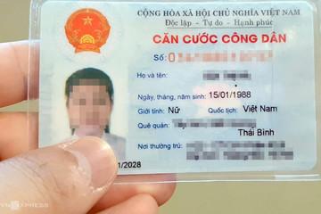 Bộ Công an đề xuất cấp thẻ căn cước công dân gắn chíp