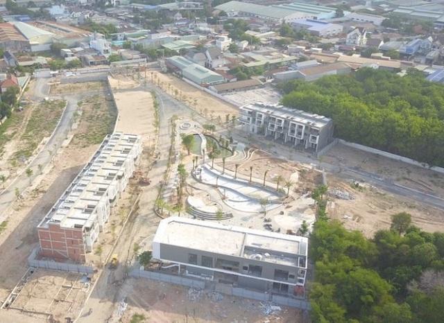 Bình Dương xử lý 2 chủ đầu tư khu dân cư xây dựng trái phép