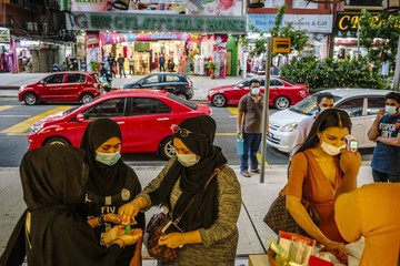Kinh tế Malaysia suy giảm mạnh nhất kể từ khủng hoảng tài chính châu Á