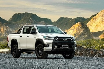 Toyota Hilux 2020 ra mắt tại Việt Nam, giá cao nhất 921 triệu đồng