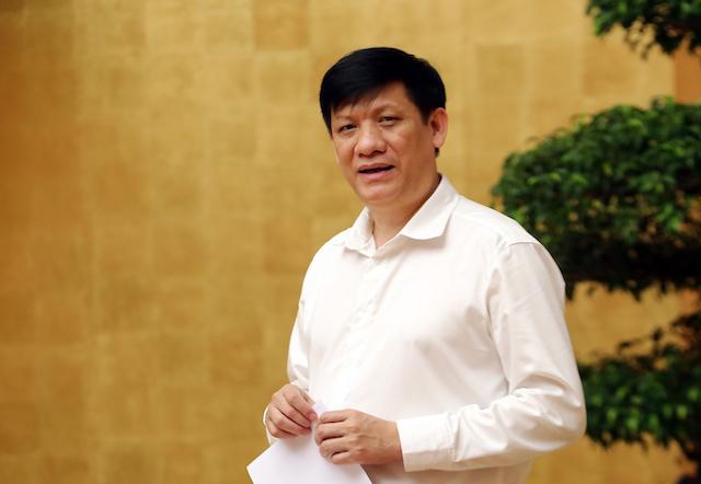Quyền Bộ trưởng Bộ Y tế, GS.TS Nguyễn Thanh Long phân tích thêm về chùm ca bệnh tại Hải Dương..
