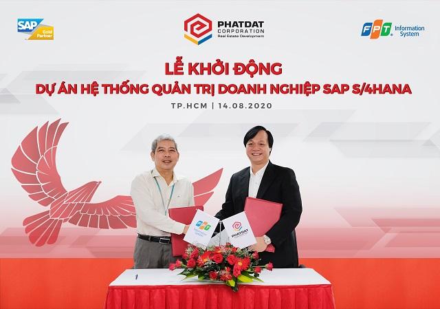 Phát Đạt khởi động dự án hệ thống quản trị doanh nghiệp SAP S/4HANA