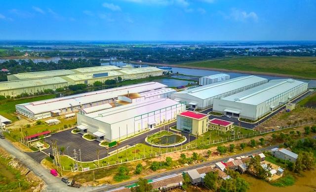 Trung tâm Công nghiệp chế biến hạt giống và nông sản tại tỉnh Đồng Tháp.