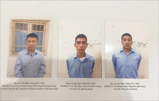 Truy tố đối tượng cướp Techcombank chi nhánh Sóc Sơn