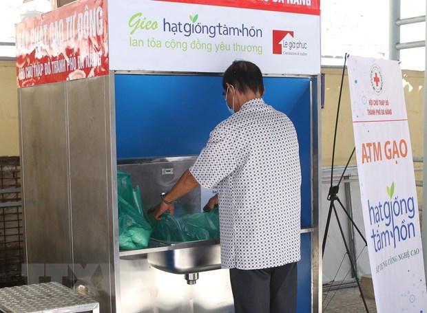 ATM gạo sử dụng trí tuệ nhân tạo tại thành phố Đà Nẵng