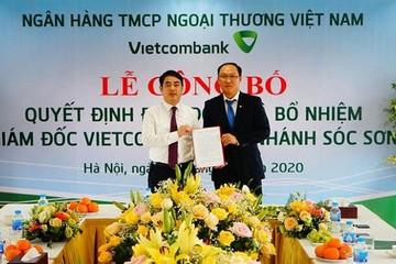 Vietcombank bổ nhiệm nhân sự chi nhánh, trụ sở chính