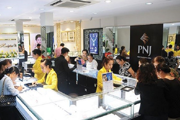 PNJ tăng kinh doanh vàng miếng, lợi nhuận tháng 7 tăng