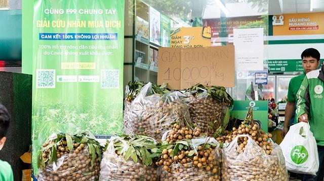 Nhãn lồng Hưng Yên 'đại hạ giá' 10.000 đồng/kg