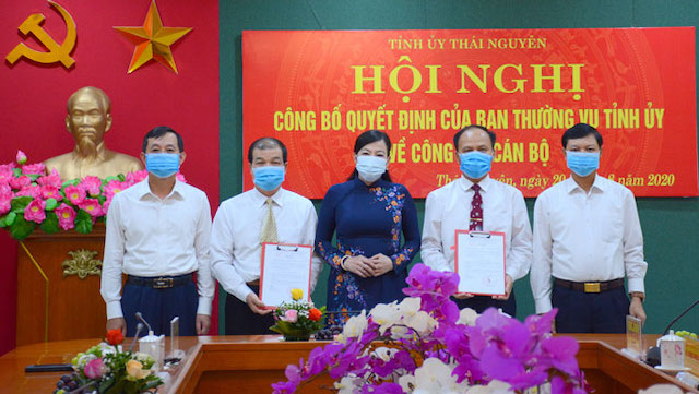 Thái Nguyên có tân Phó Bí thư Tỉnh ủy