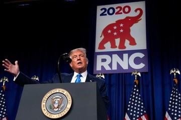 Bầu cử Mỹ 2020: Khai mạc Đại hội toàn quốc đảng Cộng hòa