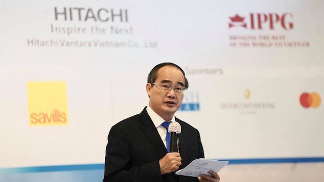 Ông Nguyễn Thiện Nhân: 'Muốn tăng lợi nhuận và tìm người làm việc chăm chỉ, hãy đến TP HCM'