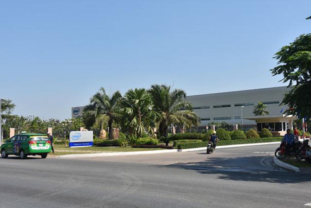 Nhà máy Intel ở Khu Công nghệ cao (quận 9) là một trong những dự án đầu tư lớn nhất của Mỹ tại TP HCM.