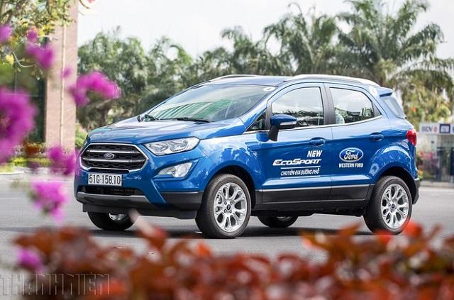 Xe SUV giá rẻ nhất của Ford tại Việt Nam giảm giá hơn 80 triệu đồng