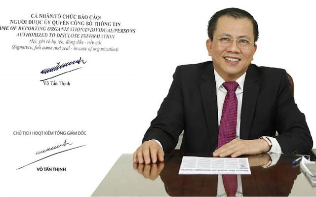 Thu 5.000 tỷ từ bán Thipha Cable cho người Thái, ông Võ Tấn Thịnh chi trăm tỷ mua cổ phiếu LHG