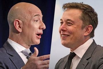 Tài sản của Jeff Bezos vượt 200 tỷ USD, Elon Musk gia nhập 'câu lạc bộ' tài sản 12 chữ số