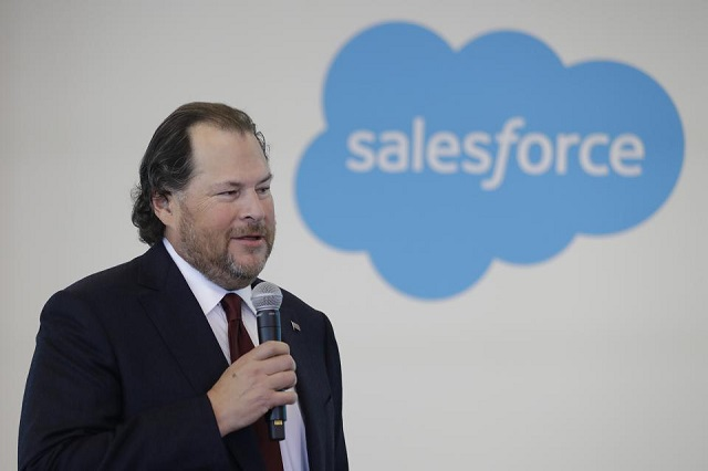 Cổ phiếu Salesforce tăng kỷ lục, tài sản của CEO Marc Benioff vượt ngưỡng 10 tỷ USD