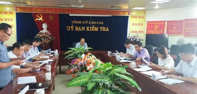 Hàng loạt cán bộ ở Lào Cai bị kỷ luật