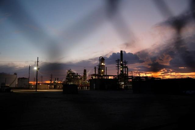 Một cơ sở lọc dầu ở bang New Mexico, Mỹ. Ảnh: Reuters/