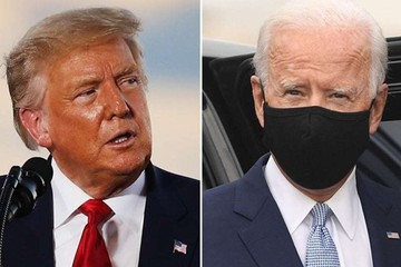Bầu cử Mỹ: Trump thu hẹp cách biệt, bám sát Biden