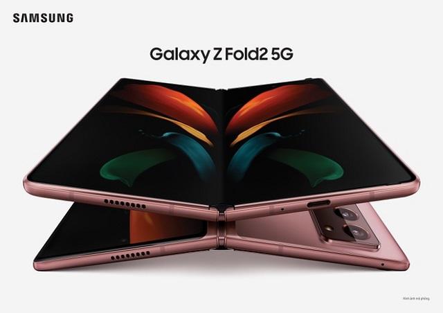 Samsung ra mắt Galaxy Z Fold2