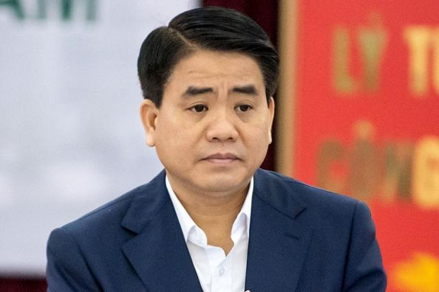 Ông Nguyễn Đức Chung bị đình chỉ tư cách đại biểu HĐND Hà Nội