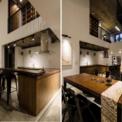 <p> Phòng ăn lớn gấp đôi, được bao quanh bởi phòng khách, thư viện nhỏ và hành lang ở tầng một, cải thiện kết nối giữa các thành viên và mang đến cho không gian sống sự tương tác năng động.</p>