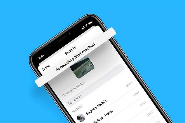 Facebook hạn chế khả năng chuyển tiếp tin nhắn Messenger