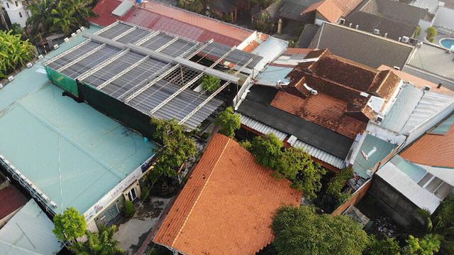 Tổ hợp Gia Trang Quán - Tràm Chim Resort (xã Tân Quý Tây, huyện Bình Chánh) vi phạm trật tư xây dựng đến nay vẫn chưa cưỡng chế xong.
