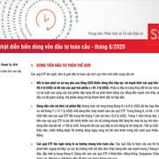 SSI Research: Cập nhật diễn biến dòng vốn đầu tư toàn cầu tháng 8/2020