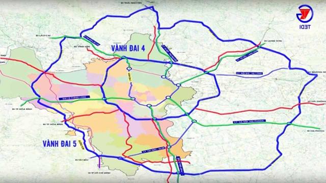 Quy hoạch chi tiết đường vành đai 5 đi qua 8 tỉnh thành.
