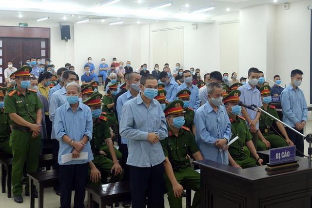 2 trong số 29 bị cáo hầu tòa bị VKS đề nghị tử hình.