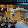 <p> Sau khi hoàn thiện, chủ nhân của căn hộ nhận xét đây sẽ là nơi rất thích hợp để tổ chức tiệc. Các kiến trúc sư hoàn toàn đồng ý và đó là nguồn gốc dành cho cái tên của căn hộ - Party Apartment (Căn hộ tiệc tùng).</p>