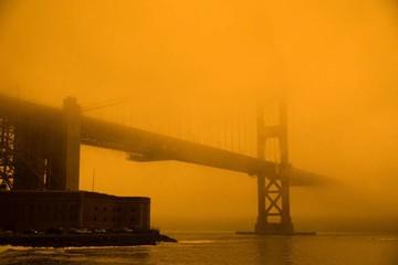 Bầu trời bang ở Mỹ như trên sao Hỏa vì cháy rừng