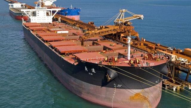 Nhập khẩu quặng sắt Trung Quốc bắt đầu hạ nhiệt