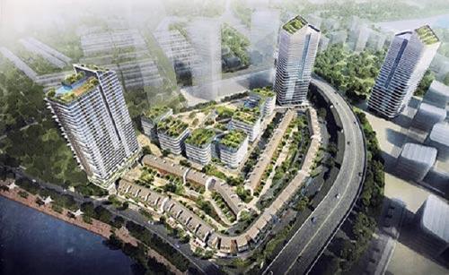 Đà Nẵng đấu thầu gói xây lắp 629 tỷ đồng tại dự án khu công viên phần mềm số 2.