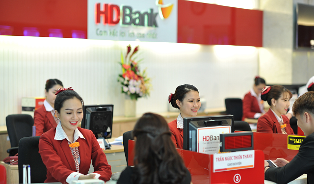 HDBank chốt quyền chia cổ tức đợt 1 và thưởng cổ phiếu tổng tỷ lệ 30%