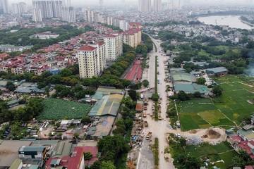 Sau 18 năm được duyệt quy hoạch, đường vành đai 2,5 giữa Hà Nội vẫn ngổn ngang