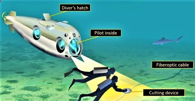 Các tuyến cáp quang dưới đáy biển bị nhiều hiểm họa rình rập, bao gồm cả phá hoại; Nguồn: forbes.com