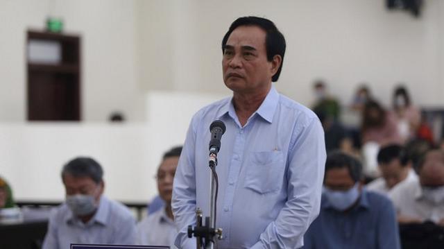 Cựu Chủ tịch UBND TP.Đà Nẵng tại tòa.