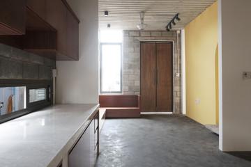 Nhà 2 tầng ở Bình Dương thiết kế sử dụng khoảng 20 năm với chi phí chưa tới 500 triệu đồng