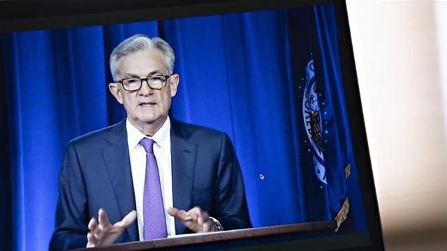 Chủ tịch Fed Jerome Powell phát biểu về cách tiếp cận chính sách mới ngày 27/8. Ảnh: Bloomberg.