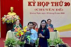 Quảng Ngãi có tân Chủ tịch tỉnh