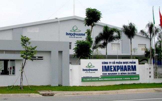 Imexpharm lãi trước thuế 145 tỷ đồng sau 8 tháng, tăng 28%