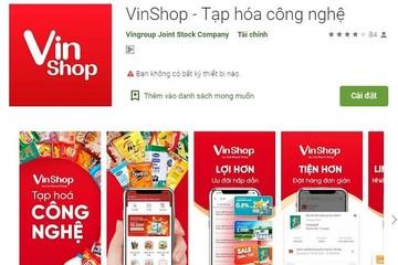 Vingroup ra mắt ứng dụng thương mại điện tử Vinshop dành cho các tạp hóa