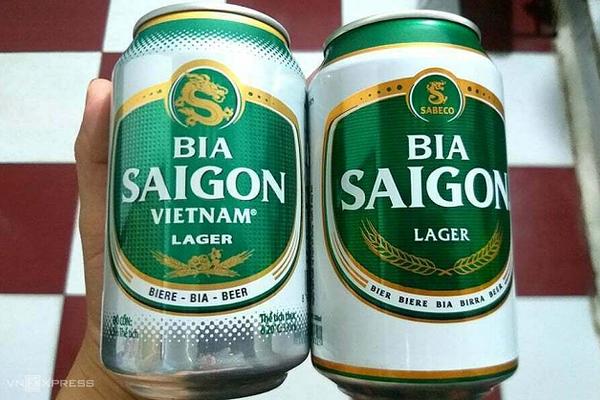 Bia Saigon bị làm 'nhái' như thế nào?