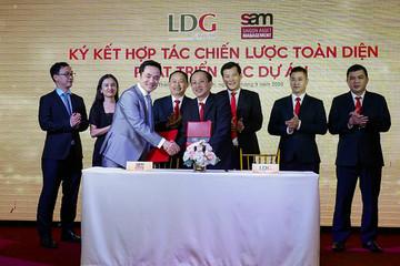 LDG công bố 5 dự án chiến lược vốn khoảng 61.000 tỷ đồng, hợp tác với quỹ đầu tư S.A.M